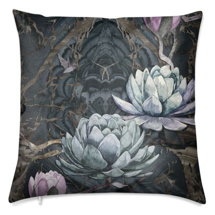 O B S I D I A N - Black Luxury 50cm Cushion