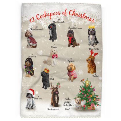 12 cockapoos of christmas