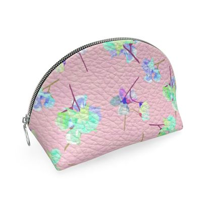 Shell Coin Purse, Pink, Flower  My Sweet Pea  Soft Pink