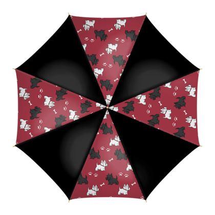 Scottie Dogs Umbrellas
