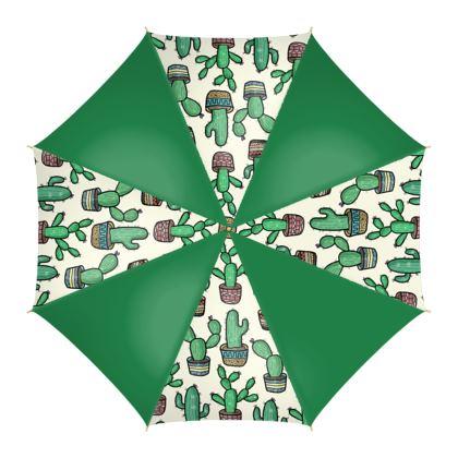 Green Cactus Umbrellas