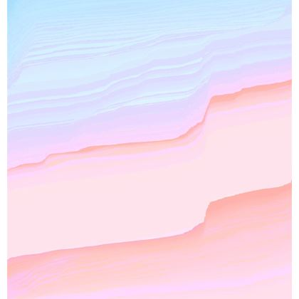 'Could Be' Pastel Glitch Espadrilles