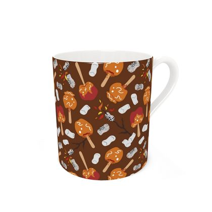 Candy Apples and Marshmallows [CHOCOLATE BROWN] Coffee Mug