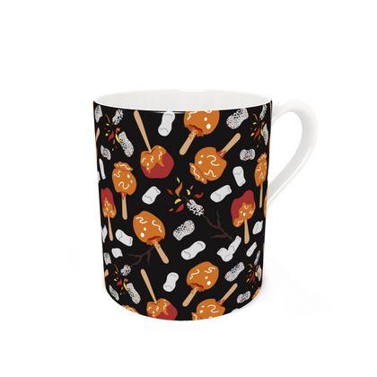 Candy Apples and Marshmallows [BLACK] Coffee Mug