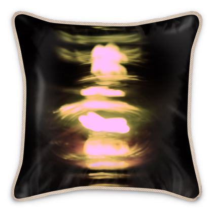 "Silk Cushion ""Lights"""