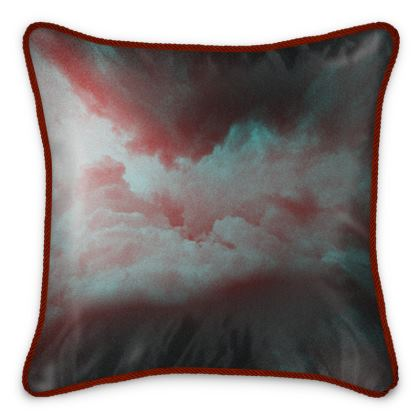 "Silk Cushion ""Anvil"""