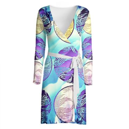Wrap dress, Japanese Breeze