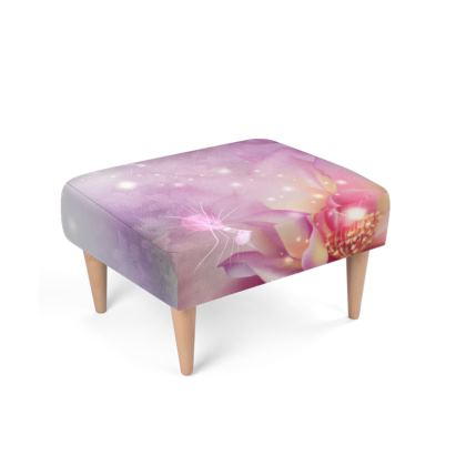 Stunning floral design Footstool