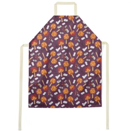 Candy Apples and Marshmallows [DUSK PURPLE] Apron