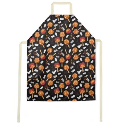 Candy Apples and Marshmallows [BLACK] Apron