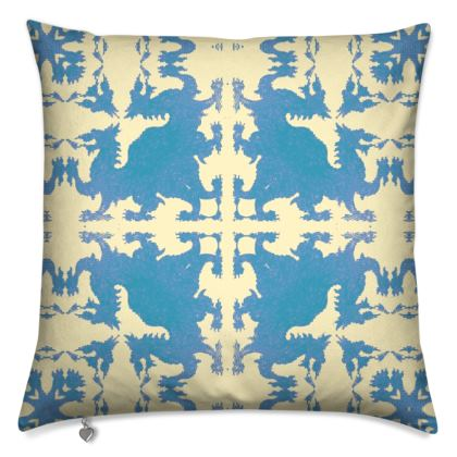 Ddraig Gudd / Hidden Dragon Cushion