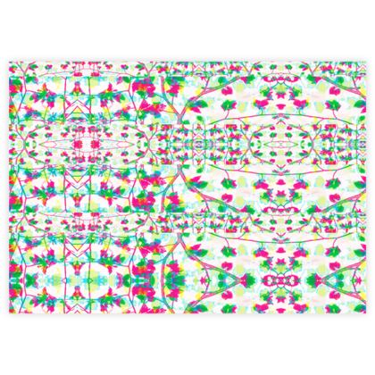 Ditsy Floral Stripe Fabric Sample Test Print