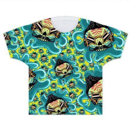 Kids T Shirts Cute Skull Elvis