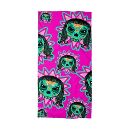 Cute Skull Vampire Neck Tube Scarf