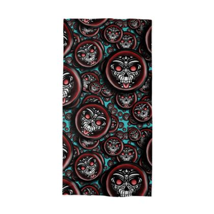 Cute Skull Maori Neck Tube Scarf