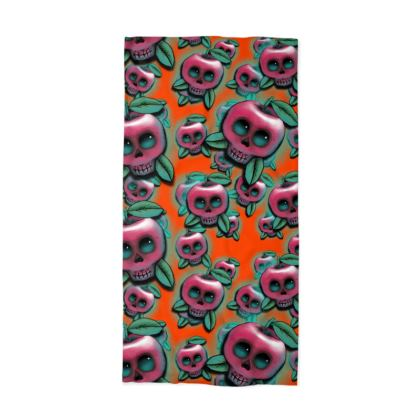 Cute Skull Apple Neck Tube Scarf