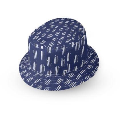 Make Your Mark Bucket Hat in Denim Blue