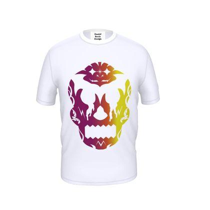 Multicoloured Sugar Skull T-Shirt