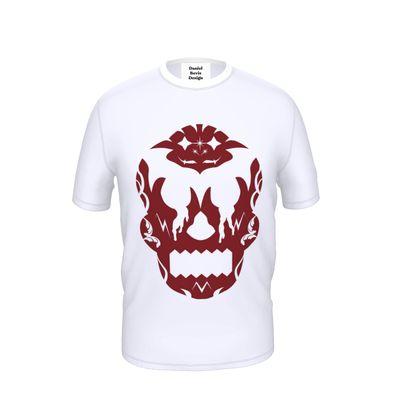 Blood Red Sugar Skull T-Shirt