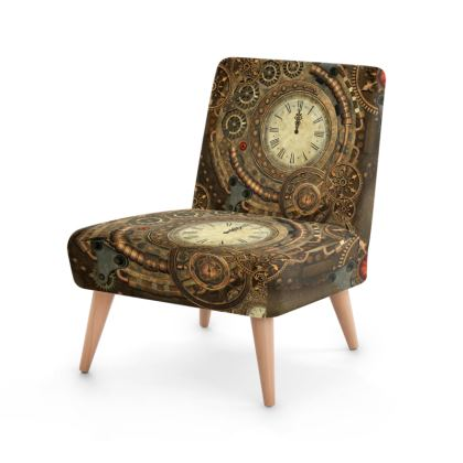 Awesome steampunk design Occasional Chair