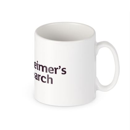 Large Alzheimers Research Mug