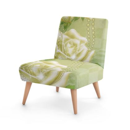 Beautiful roses Occasional Chair