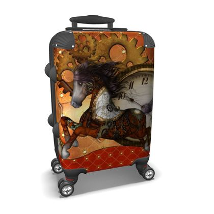 Awesome steampunk horse Suitcase