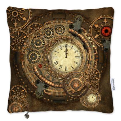 Wonderful steampunk design, clockwork Pillows Set
