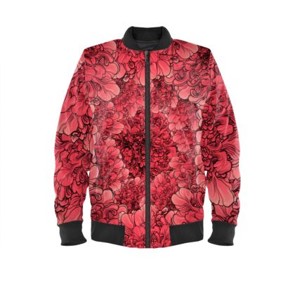 I am Serious Ladies Bomber Jacket