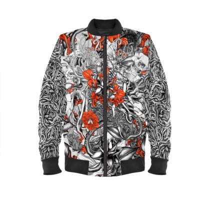 Six Mix Ladies Bomber Jacket