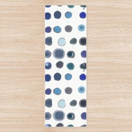 Feeling Blue Yoga Mat