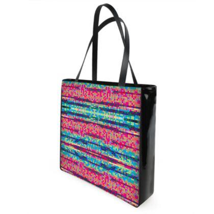 Glitch 1.0 beach bag
