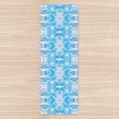Blue Woods Yoga Mat