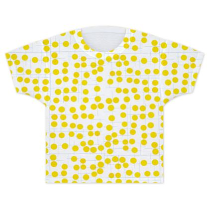 Spot On Yellow Kids T Shirt