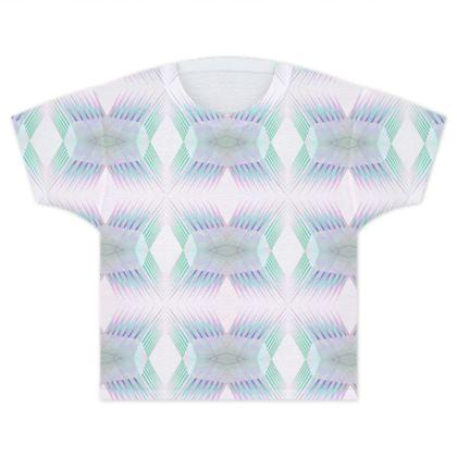 Spiky Kids T Shirt in Dream Blue