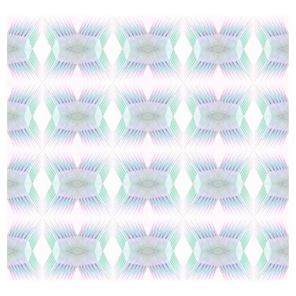 Spiky Handbag in Dream Blue