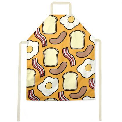 Breakfast Pattern Apron