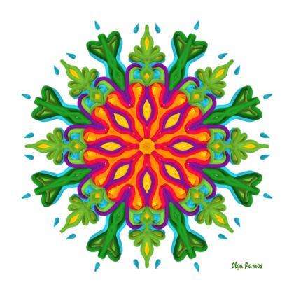 Natural Life Mode Kimono