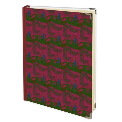 Botanical print address book