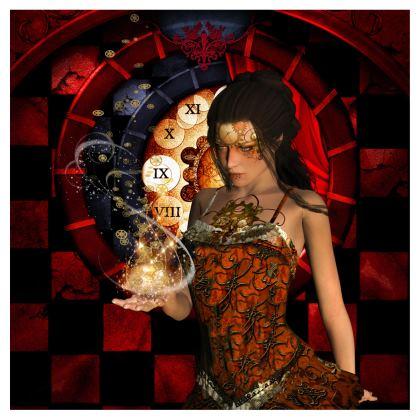 The wonderful mystical steampunk lady Directors Chair