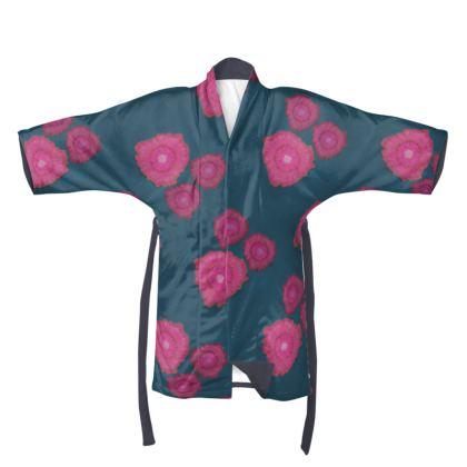 Magenta Floral Kimono