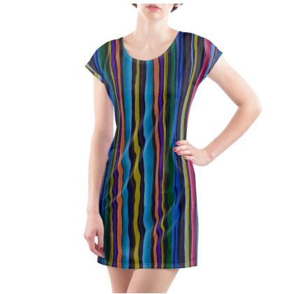 Striped Tunic T Shirt