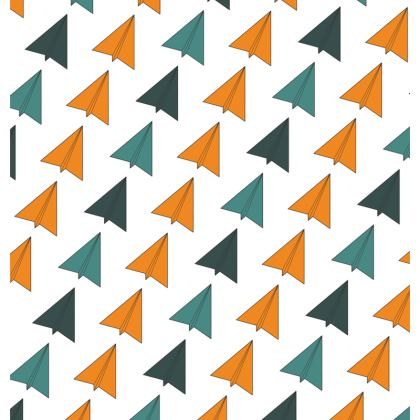 Espadrilles Origami Planes Pattern Yellow Edition