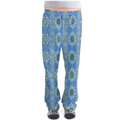 Geometric Gaudi Pajama Bottoms