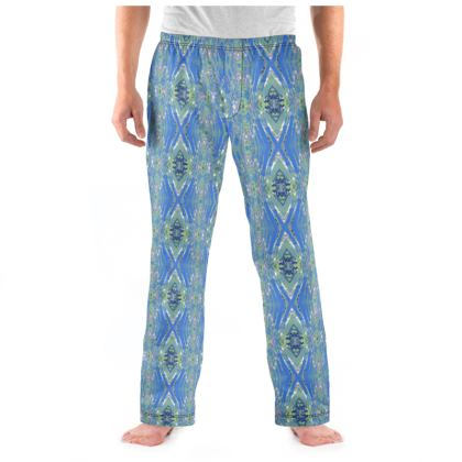 Geometric Gaudi Pajama Bottoms