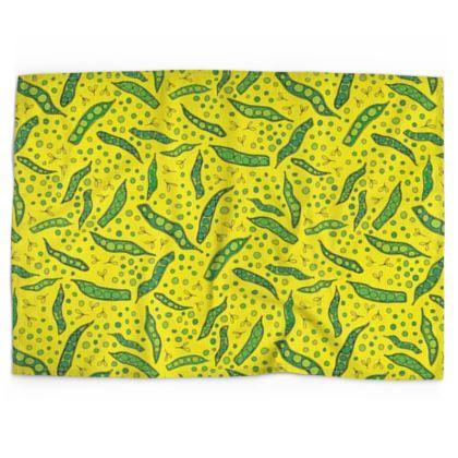 Garden Peas Tea Towel