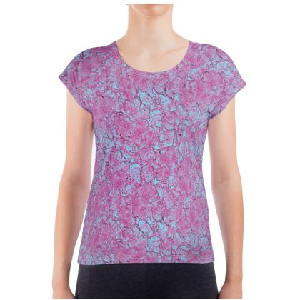 Outlined Floral T-shirt
