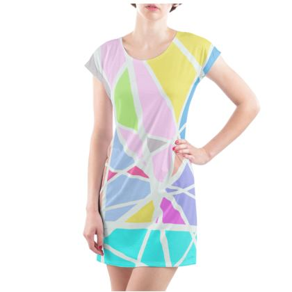 Triangular printed Tunic T-shirt