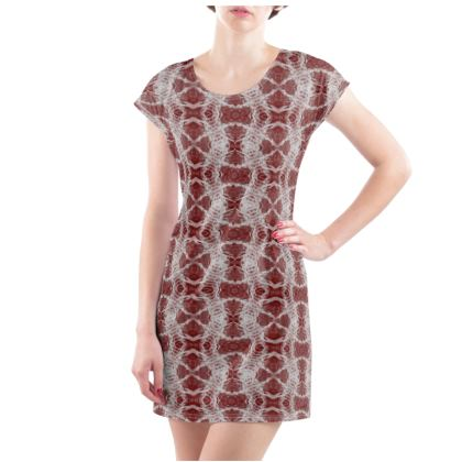 Red Gaudi Tunic T-shirt