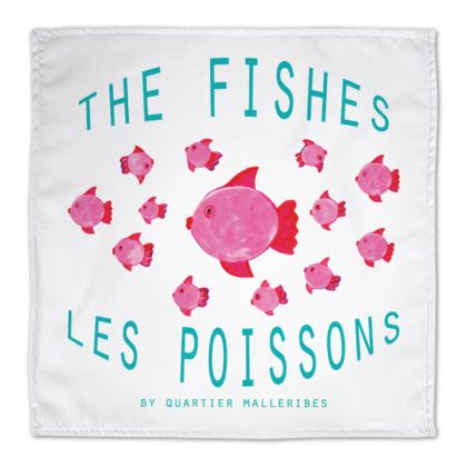 """Napkin """"Les Poissons"""""""